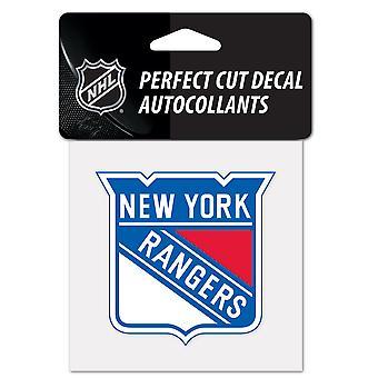 Wincraft decal 10x10cm - NHL New York Rangers