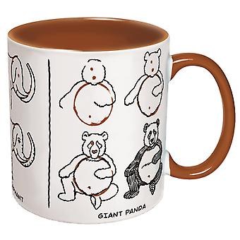 Mug - UPG - How to: Draw Animals - 12oz Cup New Licensed 3824