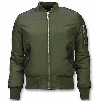 BomberJack - Bomber Jacket Basic - Khaki