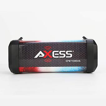 Axess Personal Bluetooth Media Speaker With Lithium Rechargeable Battery - US