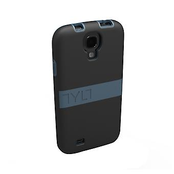 Tylt Band Protective Case for Samsung Galaxy S4 - Black/Gray