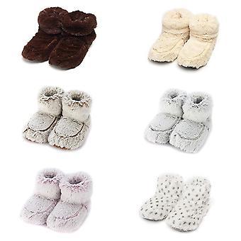 Warmies Microwavable Opwarmen Soft Slipper Boots Lavendel geurende Booties UK Size