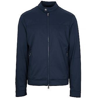 Jachetă de aviator Michael Kors bleumarin