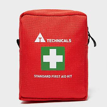 New Technicals Standard First Aid Kit Outdoors Camping Red