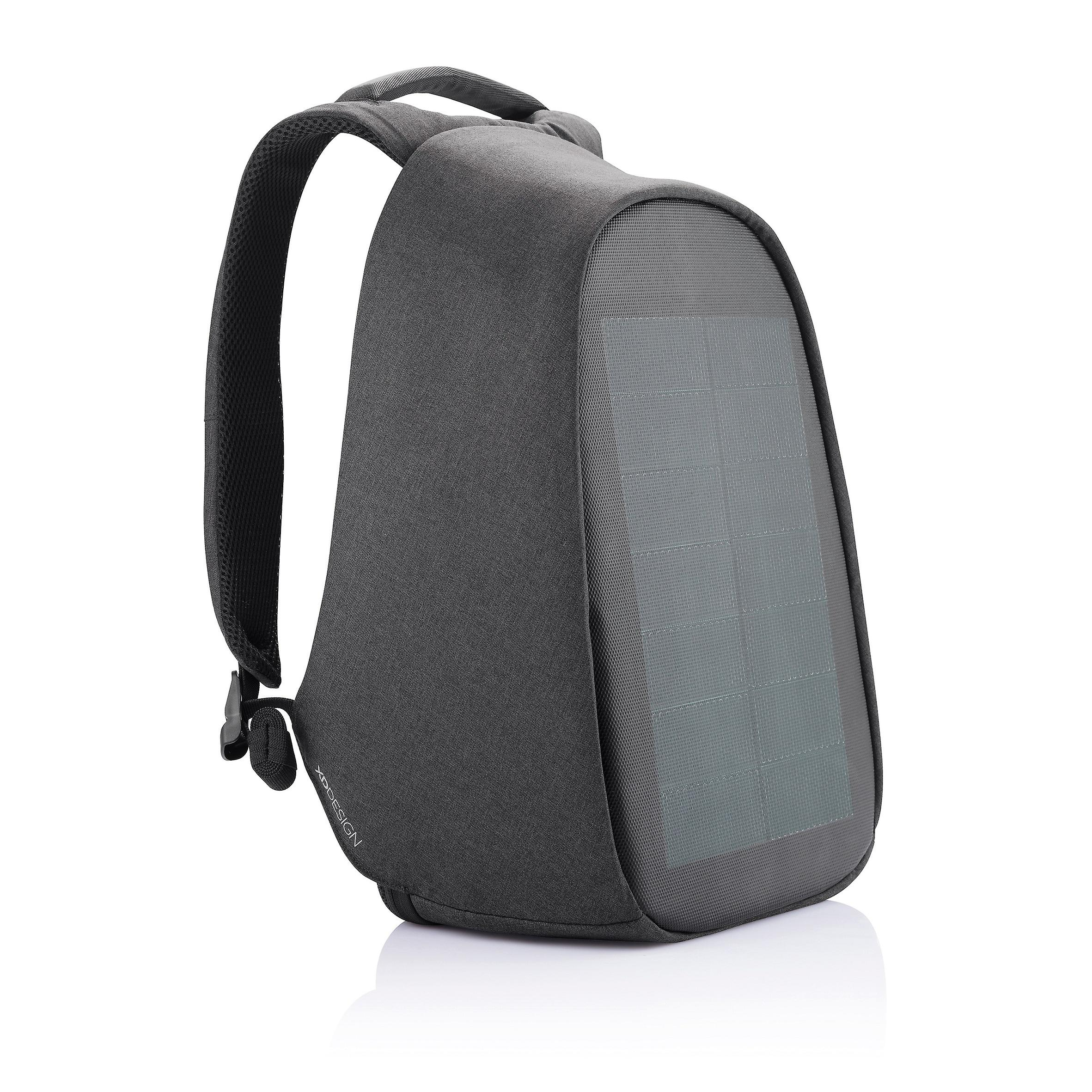 XD Design Bobby Tech Anti-Theft Backpack Wireless Solar Charger USB/Type C