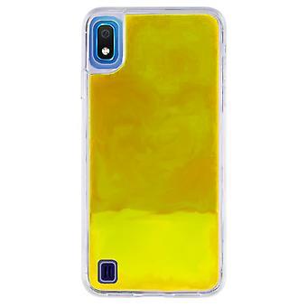 Case CoolSkin Liquid Neon TPU for Samsung A10 Yellow