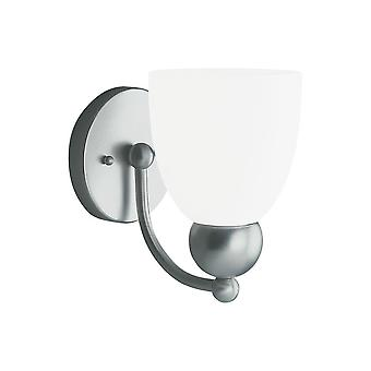 Sea Gull Lighting 41035-962 Metropolis 1-Light Vanity Brushed-Nickel Finish