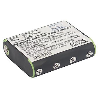 Battery for Motorola 53615 HKNN4002 HKNN4002A HKNN4002 Talkabout EM1000 MC225