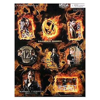 The Hunger Games Sticker Set 8 Piece