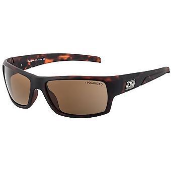 Dirty Dog Beast Satin Sunglasses - Brown Tort
