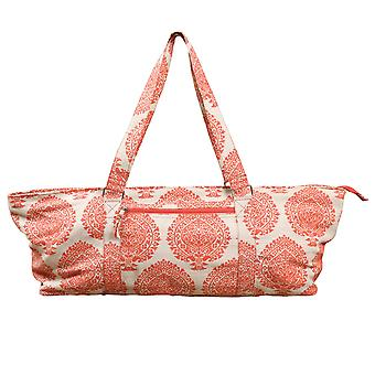 Fitness Mad Yoga Mad Deluxe Pilates Accessoires Spacious Mat Prop Bag - Orange