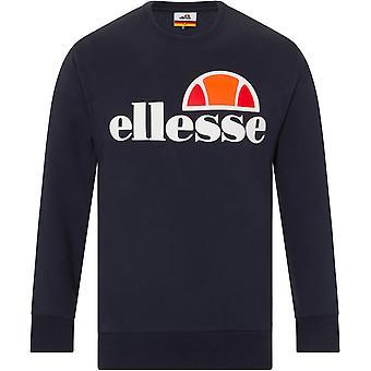 Ellesse Succiso Logo Crew Neck Sweatshirt Navy 28