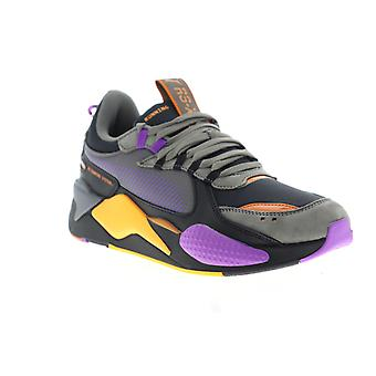 Puma Rs-X O.H  Mens Black Canvas Lace Up Low Top Sneakers Shoes