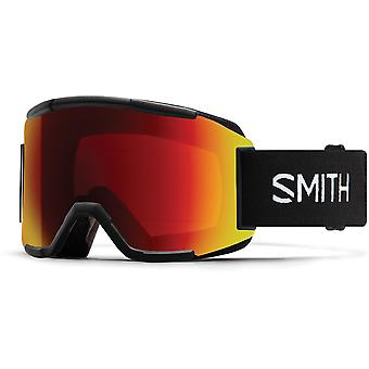 Smith Squad Black - 96K - Sun Red Mirror
