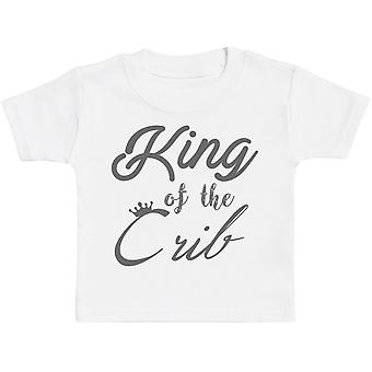 King Of The Crib Baby T-Shirt - Baby TShirt Gift - Baby Tee - Baby Gift