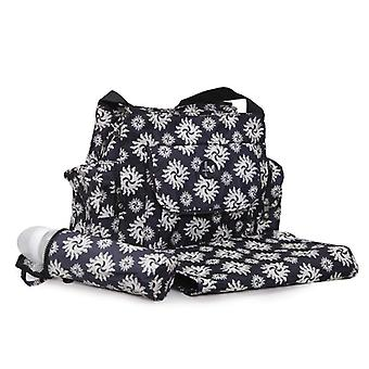 Cangaroo changing bag Karina with wrapping pad, insulated bag for baby bottles