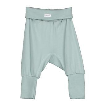 Baby broek bamboe licht turquoise, 62 cl
