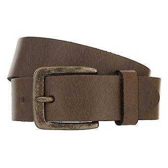 Teal Belt Men's Belt Leather Belt Denim Belt Grey 8419