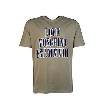 Moschino T Shirt Logo Print M4732 3r M3876