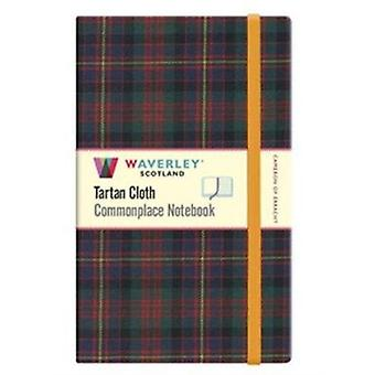 Cameron of Erracht Waverley Scotland Large Tartan Commonplace Notebook by Waverley Books