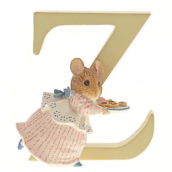 Beatrix Potter alphabet lettre Z Appley Dapply figurine