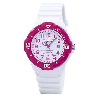 Casio Analog Hot Pink White Dial Lrw-200h-4bvdf Lrw200h-4bvdf Damen's Uhr