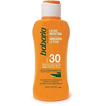 Babaria Aloe Sunscreen Milk SPF 30 100 ml