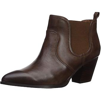 Bella Vita Womens Emerson Leather Pointed Toe Ankle Fashion Boots