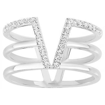Anello PHOEBUS creazioni 60100003 - Vegas versione Chic anello argento donna e