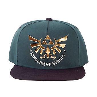 Zelda Baseball Cap Kingdom of Hyrule new Official Nintendo Green Snapback