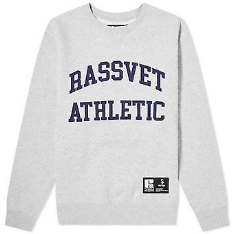 PACCBET Rassvet x Russell urheilullinen harmaa College pusero