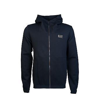 Ea7 Emporio Armani Cardigan Hooded Sweatshirt 6gpm26 Pjp2z