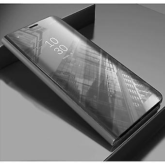 Stuff Certified® Samsung Galaxy S7 Edge Smart spegel Flip Case fodral fodral silver