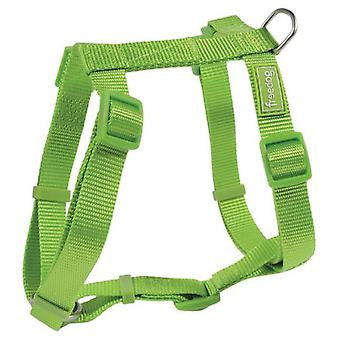 Freedog Harness Nylon Basic Lime (Dogs , Collars, Leads and Harnesses , Harnesses)