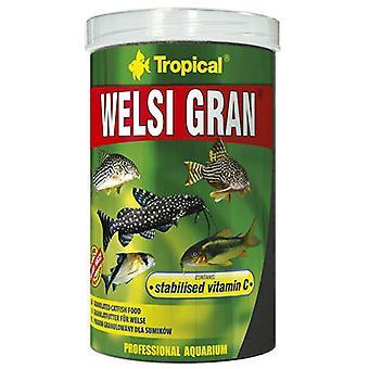 Tropical 60466 Welsi Gran 1000 ml (Fish , Food , Warm Water)