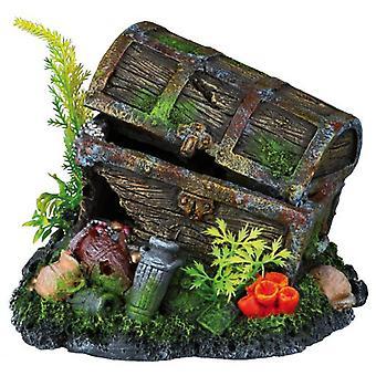 水族館 (魚、装飾、装飾品) のトリクシー宝箱
