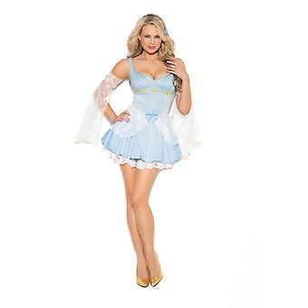 Elegant Moments Womens Cinder Babe Storybook Halloween Costume