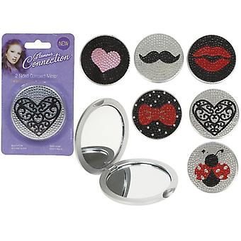 2 Sided Compact Mirror