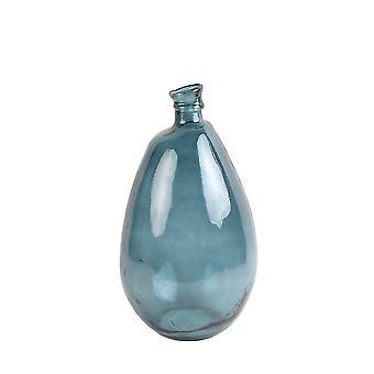Light & Living Vase 26x47cm Giorgio Glass Dark Blue