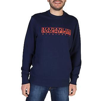 Napapijri Original Men Spring/Summer Sweatshirt - Blue Color 41731