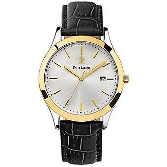 Pierre Lannier analoginen kvartsi miesten watch nahka 231G023