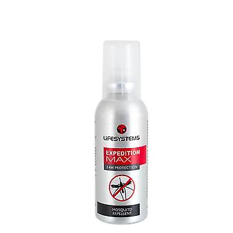 Lifesystems Expedition MAX DEET Mosquito Repellente Spray (50ml) - 50ml