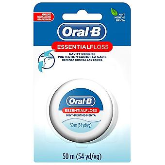 Oral-b essential floss, mint, 54 yards, 1 ea