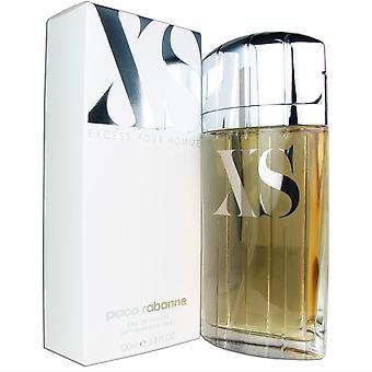 Xs for men by paco rabanne 3.4 oz 100 ml eau de toilette spray