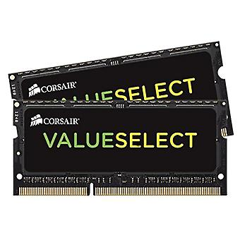 Corsair CMSO16GX3M2A1333C9 Value Select Memoria da 16 GB (2x8 GB), DDR3, 1333 MHz, CL9