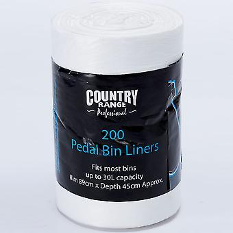 Country Range Pedal Bin Liners 30L