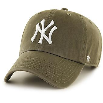 47 le feu casquette ajustable - santal CLEAN UP NY Yankees