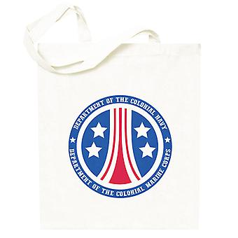 Alien Colonial Marine Corps Logo Totebag