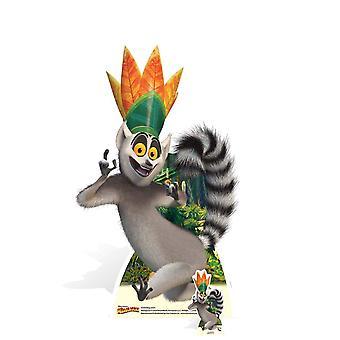 الملك جوليان لومار من مدغشقر قطع الورق المقوى / ستاندي / ستاندب