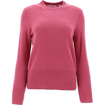 Equipment 195006109sw01374redviolet Women's Pink Cashmere Sweater